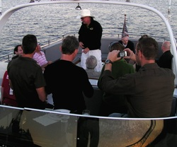 Corporate event with Seattle Boat Charters