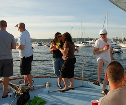 Private party with Seattle Boat Charters